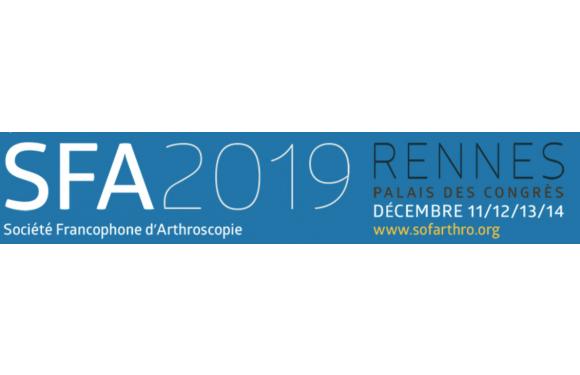Annual Congress of the French Society of Arthroscopy 2019 (SFA)