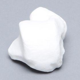 Talus, Solid White Plastic, Left