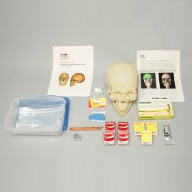 KIMSeattle Forensic Facial Reconstruction Single Lab Kit